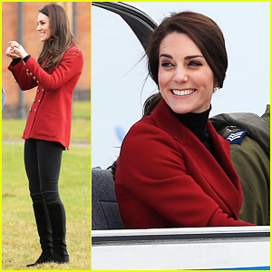 Kate Middleton Takes Flight On Valentine's Day!
