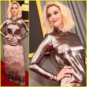 Katy Perry Reveals New Song 'Bon Appetit' at Grammys 2017