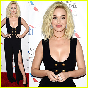 Katy Perry Changes Into Black Jumpsuit for Grammys After Party