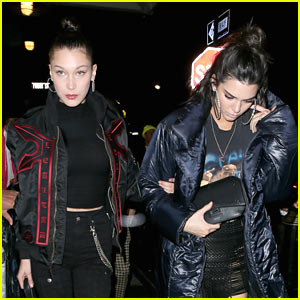 Kendall Jenner & Bella Hadid Step Out During NYFW