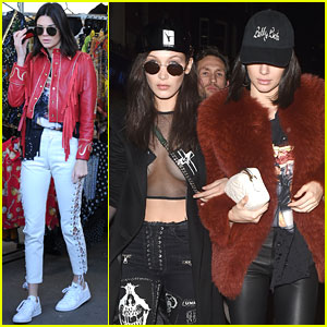 Kendall Jenner Gets In Fun Before London Fashion Week Shows