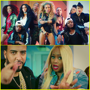 """f1cb1f8f7b6 Keyshia Cole dances it out in the just released music video for her latest  single """"You"""" featuring Remy Ma and French Montana!"""