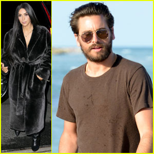 Kim Kardashian & Scott Disick Got Into a Huge Fight During Costa Rica Vacation - Report