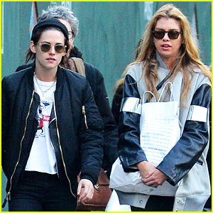Kristen Stewart & Girlfriend Stella Maxwell Go Shopping in SoHo