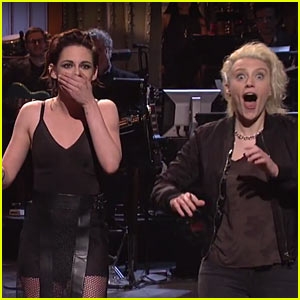 Kristen Stewart Drops The F-Bomb While Talking About Ex Robert Pattinson During 'SNL' Opening Monolgue - Watch Now!