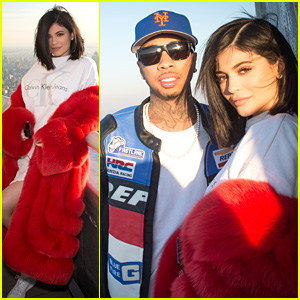 Kylie Jenner & Tyga Celebrate Valentine's Day on Top of the Empire State Building