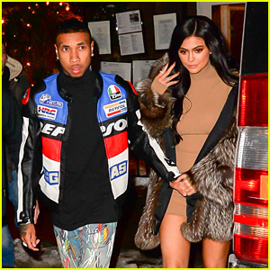 Kylie Jenner & Tyga Enjoy Date Night After a NYFW Show!