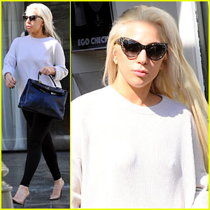 Lady Gaga Emerges from Workout Looking Absolutely Flawless