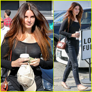 Lana Del Rey Enjoys a Day Off in Beverly Hills