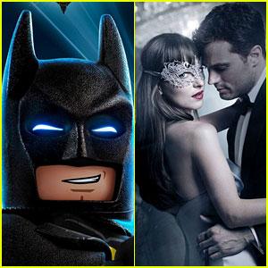 'Lego Batman Movie' Dominates 'Fifty Shades Darker' at Weekend Box Office
