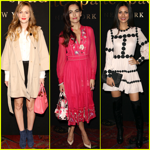 Leighton Meester, Camilla Belle & Victoria Justice Sit Front Row at NYFW
