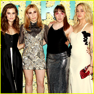 Lena Dunham Wears Dramatic Eye Makeup for 'Girls' Final Season Premiere!