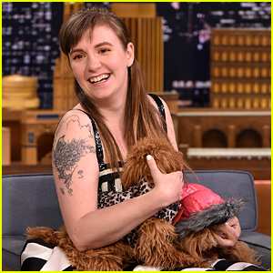 Lena Dunham's Dogs Steal the Show During 'Fallon' Interview!