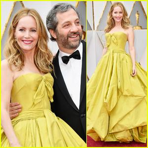 Leslie Mann & Judd Apatow Couple Up at Oscars 2017