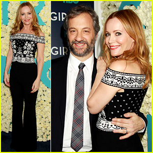 Leslie Mann Supports Judd Apatow at 'Girls' Season 6 Premiere!