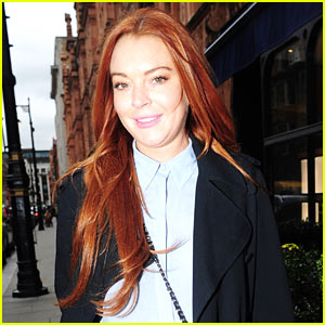 Lindsay Lohan Steps Out After Opening Up About Being Racially Profiled