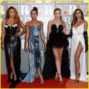 Little Mix Rock the Red Carpet at Brit Awards 2017