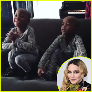 Madonna Shares Adorable Video Of Newly-Adopted Twins Singing 'Twinkle Twinkle, Little Star'