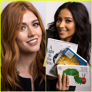 Shay Mitchell & More Freeform Stars Guess Book Titles In Exclusive 'Magic of Storytelling' Video - Watch!