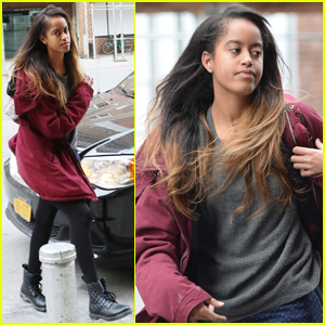 Malia Obama Gets Back to Work at Harvey Weinstein Internship