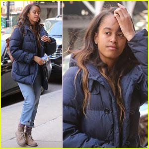 Malia Obama Heads to Her Internship After Checking Out Broadway Play With Dad Barack