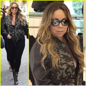 Mariah Carey Hits the Studio With Twins Monroe & Moroccan