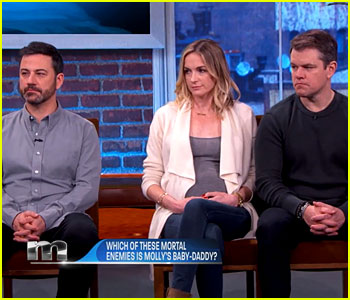 Matt Damon & Jimmy Kimmel Feud Over Baby's Paternity - Watch Now!