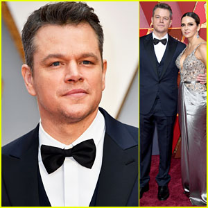 Matt Damon Spills He Doesn't Think He's a Match for Jimmy Kimmel at Oscars 2017