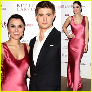 Max Irons & Samantha Barks Premiere 'Bitter Harvest' in the UK