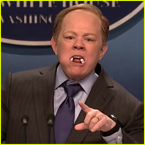 Melissa McCarthy Hilariously Plays Sean Spicer on 'SNL' (Video)