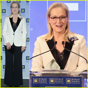 Meryl Streep Takes Aim at Donald Trump Once Again During Human Rights Campaign Gala 2017 Speech