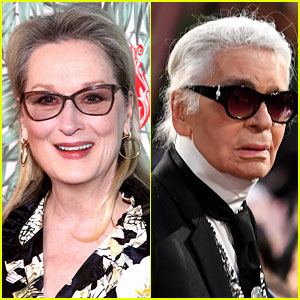 Meryl Streep Fires Back at Karl Lagerfeld, Says He Defamed Her