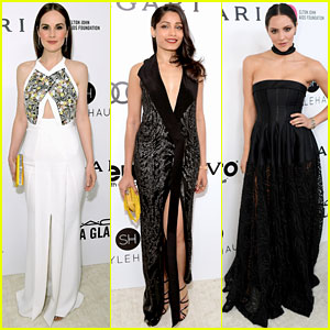 Michelle Dockery, Freida Pinto, & Katharine McPhee Step Out on Oscars Night 2017!