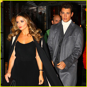 Miles Teller Steps Out for Hot Date Night with Keleigh Sperry