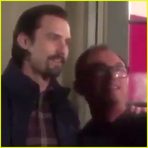 Milo Ventimiglia Surprises Fan Watching 'This Is Us' at Home