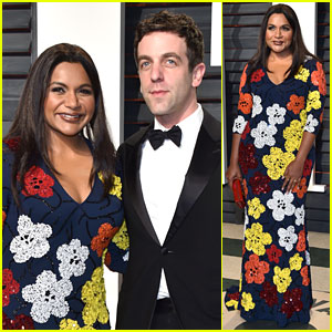 Mindy Kaling & BJ Novak Take Cute Photos in Vanity Fair's Photo Booth!
