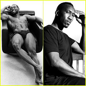 36c406cb47 Moonlight  Actors Strip Down for Calvin Klein Underwear Campaign ...