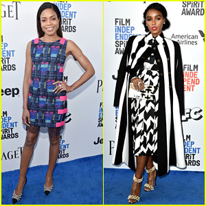Naomie Harris, Janelle Monae, & 'Moonlight' Stars Win Best Ensemble at Spirit Awards 2017!