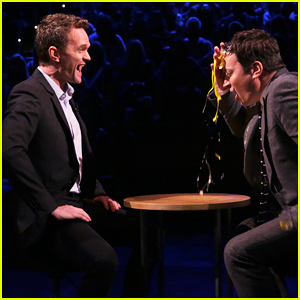 Neil Patrick Harris & Jimmy Fallon Play Egg Russian Roulette On 'The Tonight Show' - Watch Here!