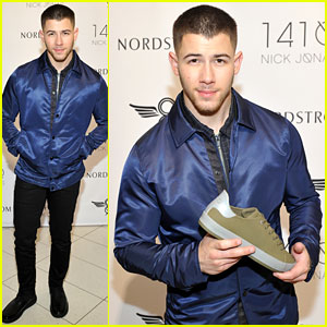 Nick Jonas Unveils 1410 Shoe Collection With Creative Recreation Ahead of Grammys