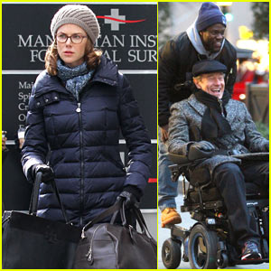 Nicole Kidman, Kevin Hart, & Bryan Cranston Begin FIlming 'Untouchable' in NYC