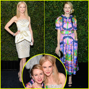 Nicole Kidman & Naomi Watts Team Up For Oscars 2017 Party