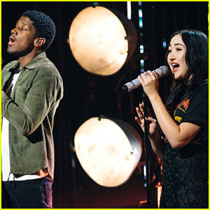 Noah Cyrus & Labrinth Perform 'Make Me (Cry)' on 'The Late Late Show'!