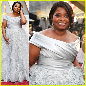 'Hidden Figures' Star Octavia Spencer Goes For A Royal Feel at Oscars 2017