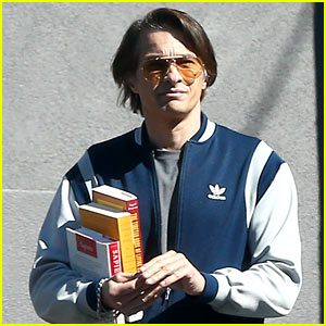 Olivier Martinez Runs Errands Around Town in L.A.