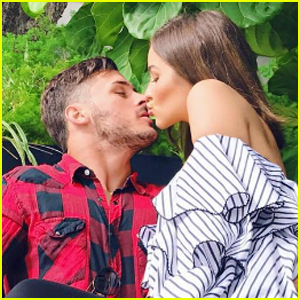 Olivia Culpo Cozies Up With Boyfriend Danny Amendola Ahead of Super Bowl