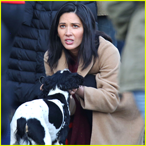 Olivia Munn Gets to Work on 'The Predator' - First Set Photos!