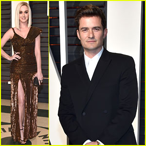 Orlando Bloom Joined Girlfriend Katy Perry at Vanity Fair Oscars Party 2017!
