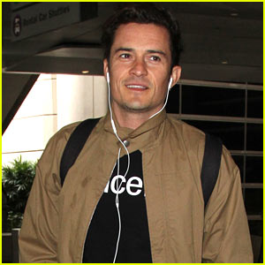 Orlando Bloom Returns Home From His UNICEF Trip in Africa