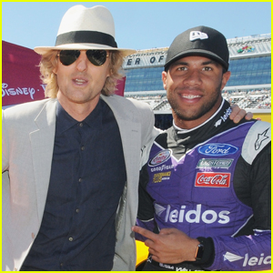 Owen Wilson Takes On Grand Marshal Duties at Daytona 500
